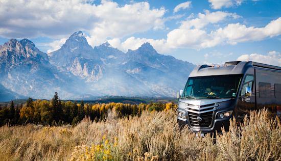National Forest Lands near Grand Tetons