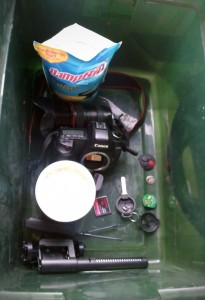 Soaked Canon Camera