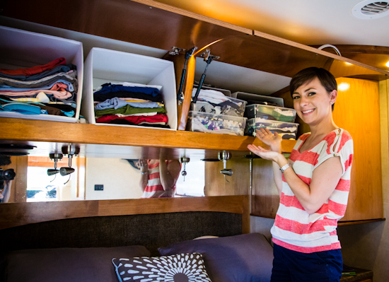Keeping your RV organized saves you time when you're out on the road.