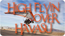 high flyin over havasu