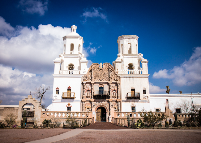 Baroque In Arizona Mission San Xavier Del Bac