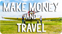 make money and travel