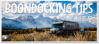 Boondocking Tips