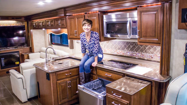 dream RV kitchen
