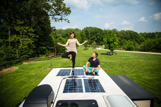 Powerful and Flexible RV Solar Panels