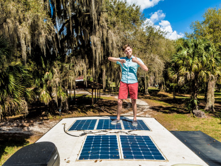 rv solar panel review
