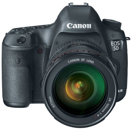 Canon 5D Mark III Digital SLR with EF 24-105mm
