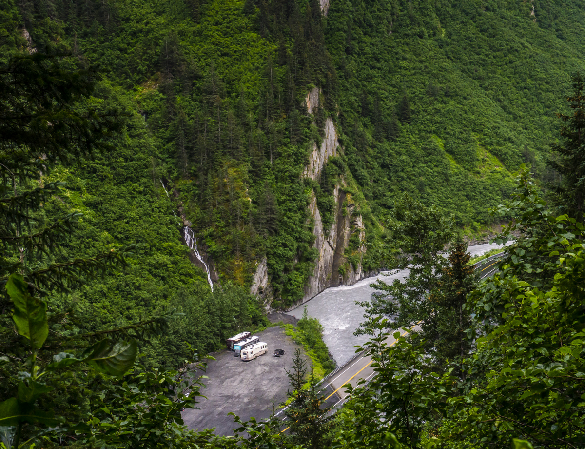 Roadside Camping on the Richardson highway