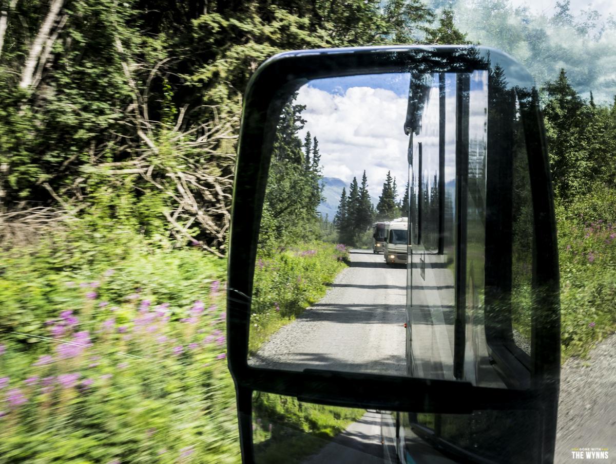 road to McCarthy Alaska
