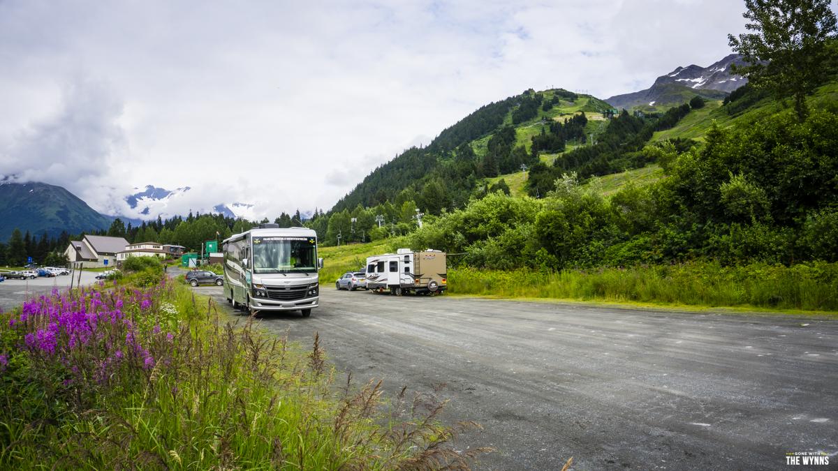 Girdwood RV Parking Camping