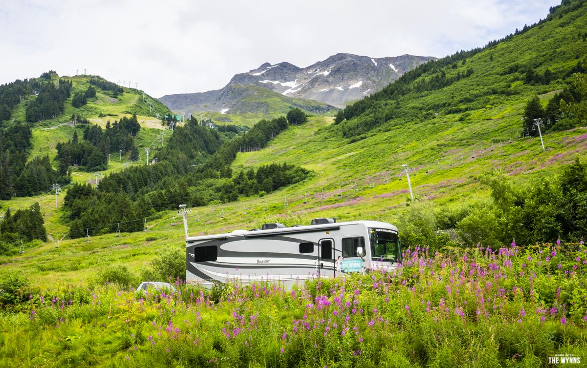 ski village rv parking