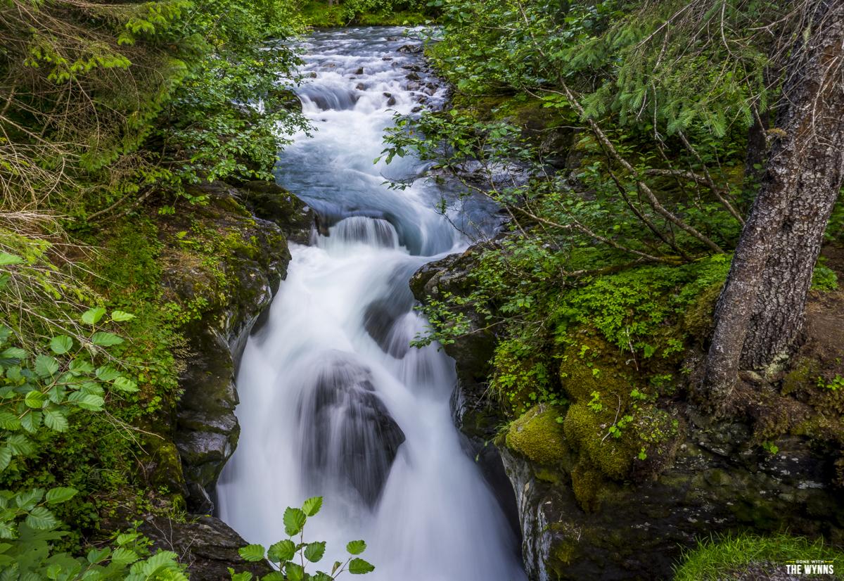 winner creek trail waterfall