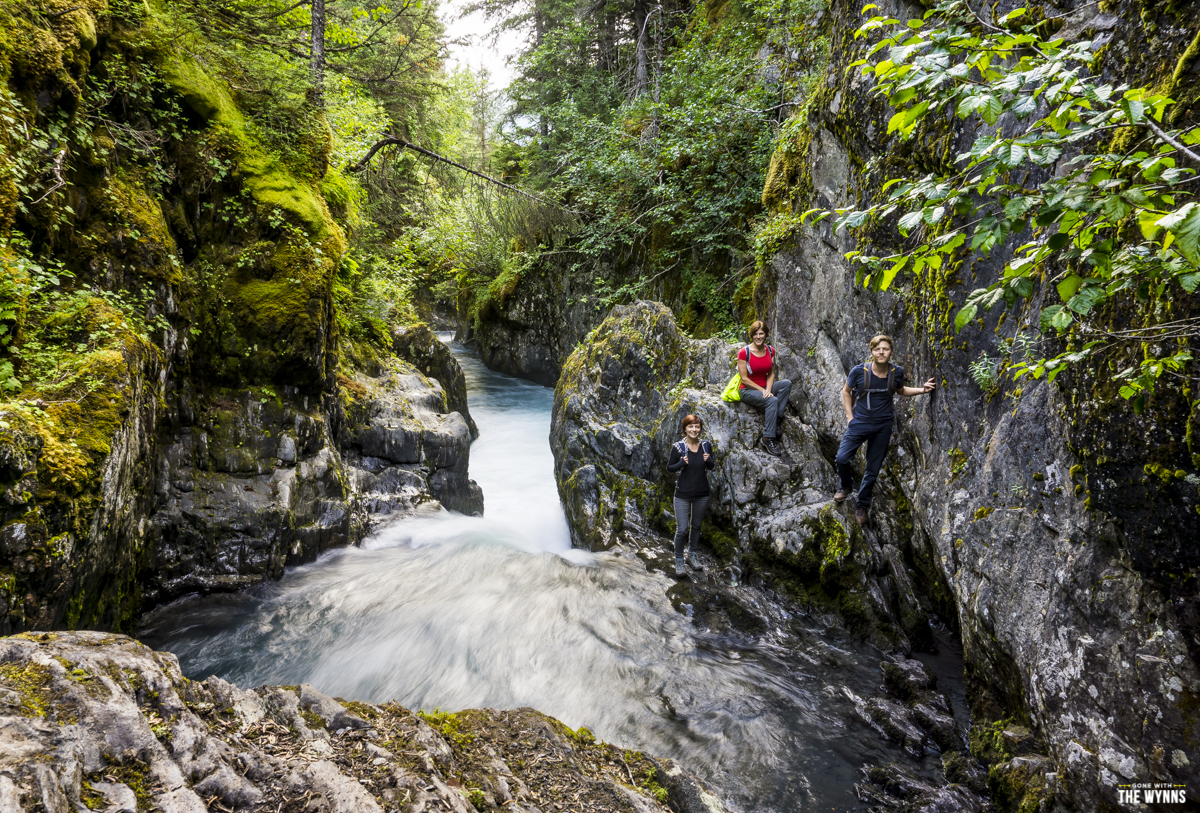 hiking girdwood alaska