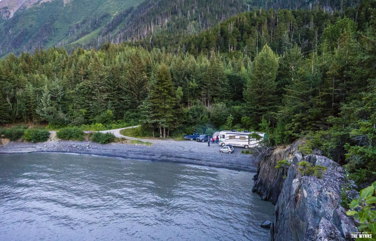 wild camping alaska