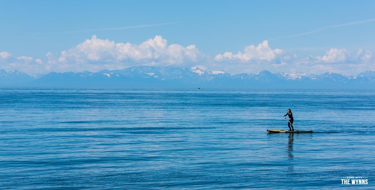stand up paddle board alaska