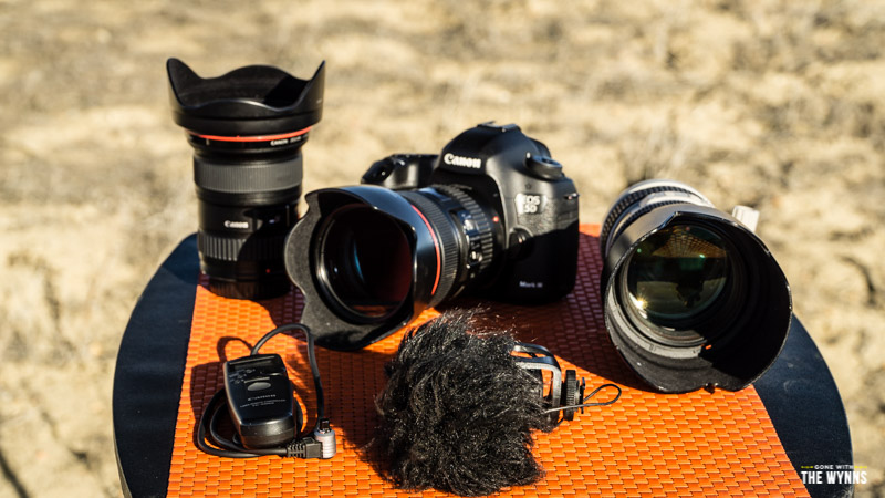 DSLR cameras and travel photography