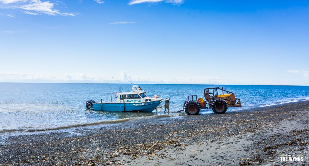 Deep Creek Beach Tractor launch