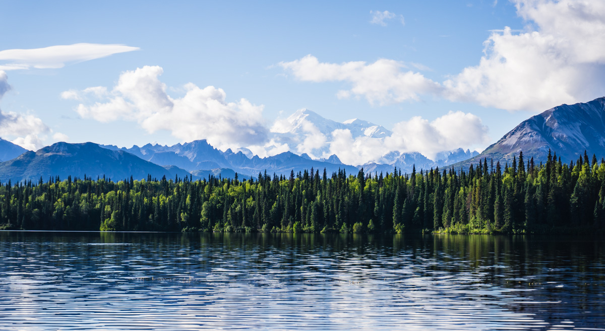Hiking Denali Byers Lake