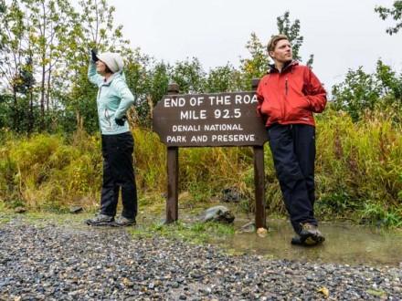 Camping and Buses Denali National Park