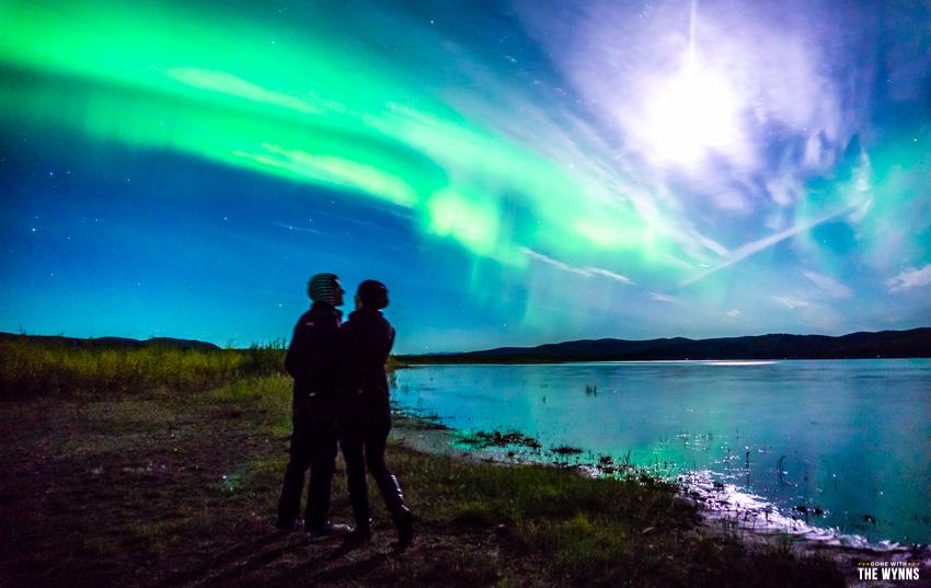 Chasing auroras Alaska