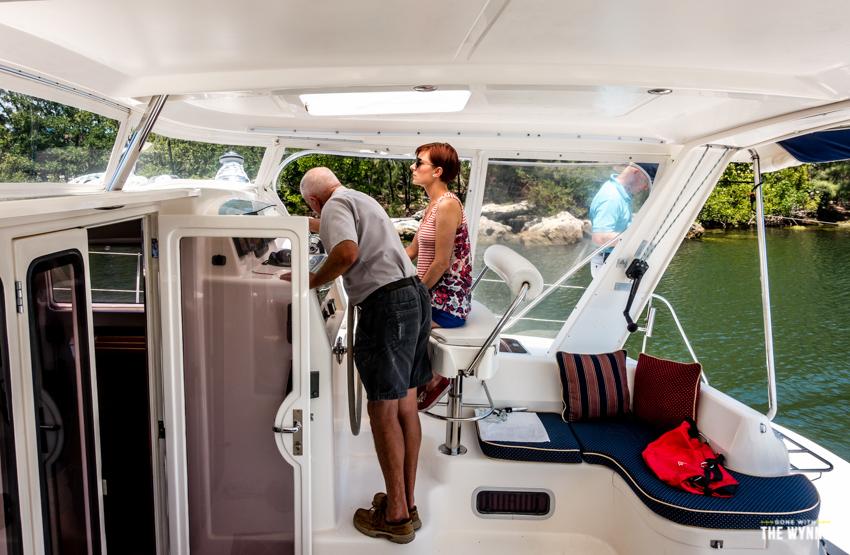 catamaran sea trial