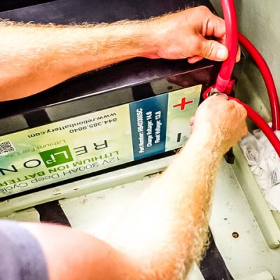 lithium batteries for sailboat