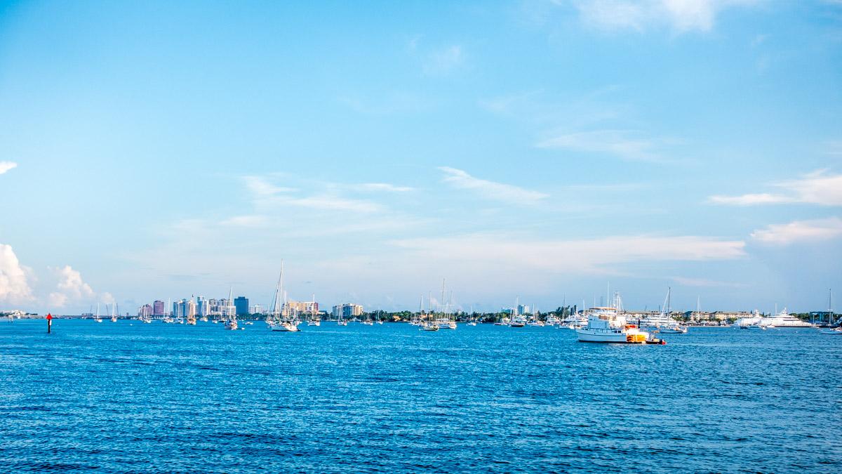 anchoring out lake worth florida