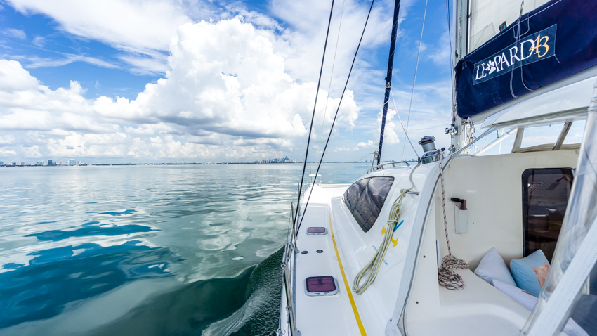 miami by sailboat