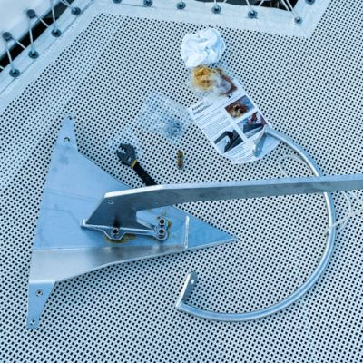 mantus anchor for catamaran