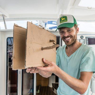 Retrofitting anchor for sailboat