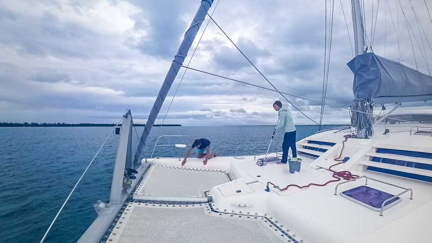 sailboat maintenance