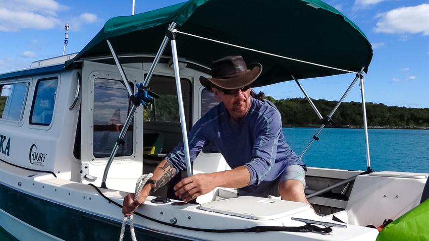 Tonka the dory boat