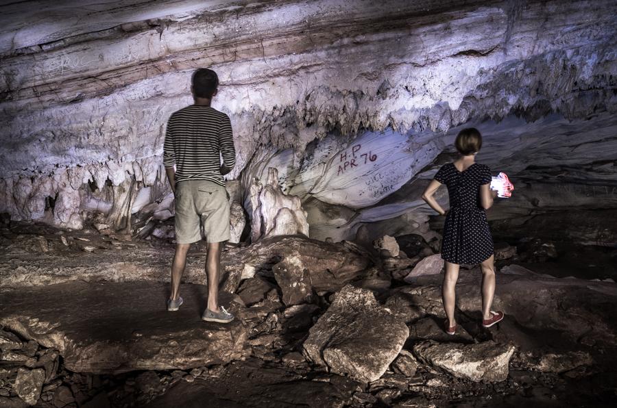 exploring caves bahamas