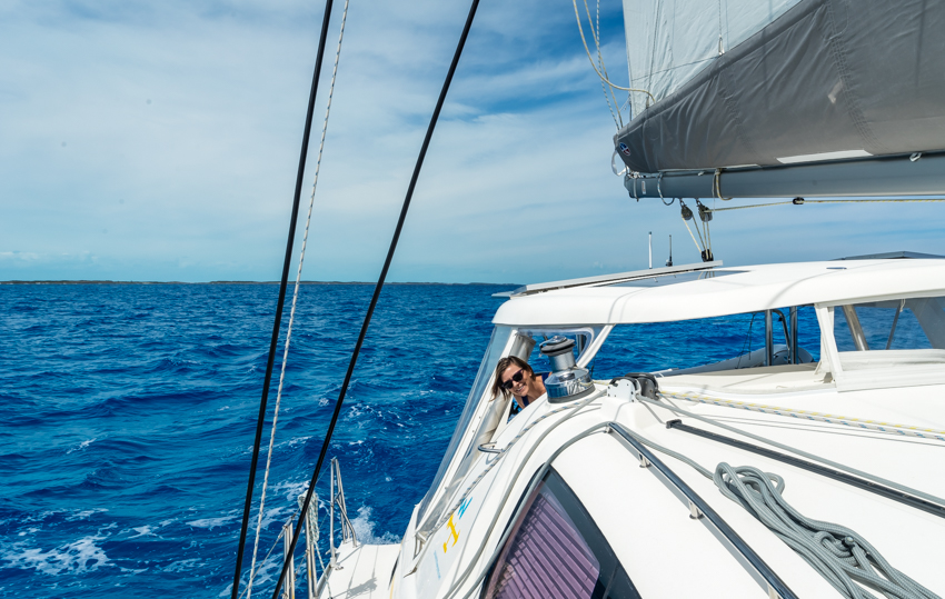 Sailing Exuma Bahamas