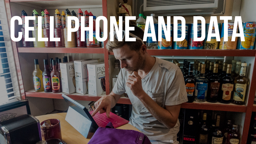 cell phone and data costs in Bahamas