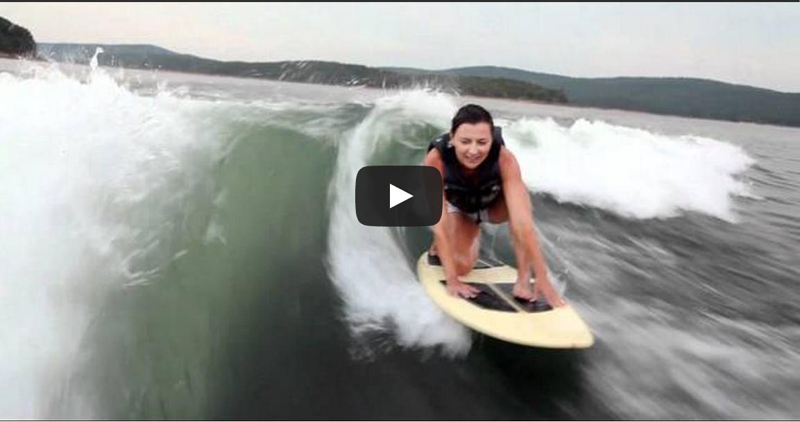 wakesurfing arkansas