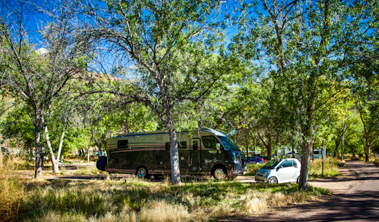 Camping at Zion National Park
