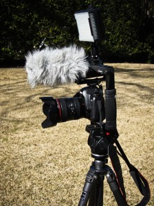HD Video dSLR Camera Setup
