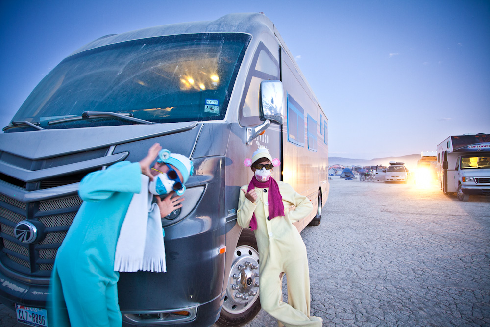 RV at Burning Man