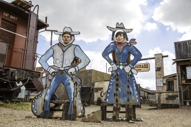 Jason and Nikki in Tombstone