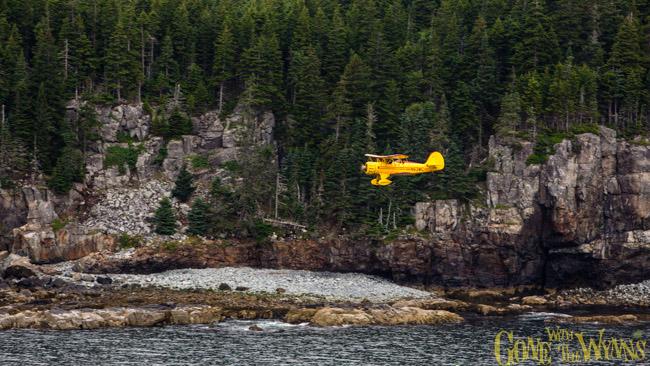 rocky cliffs of Acadia