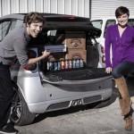 Beer Loaded Smart Car