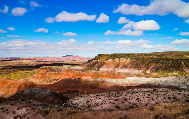 painted desert afternoon