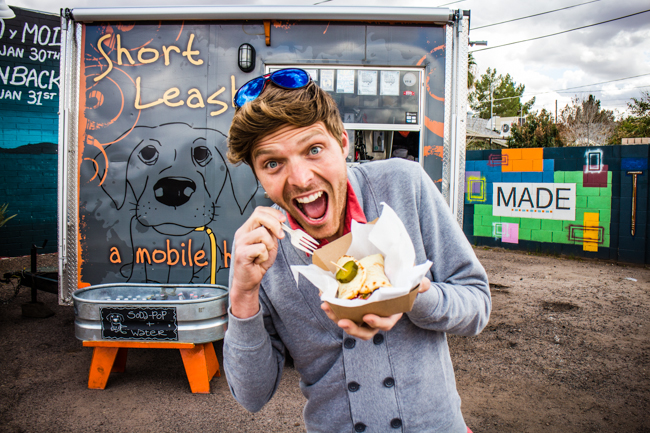 short leash food truck