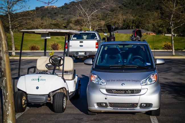 smart car golf car