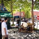 street music admire'ers