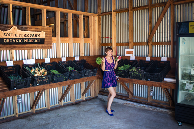 organic farm stand
