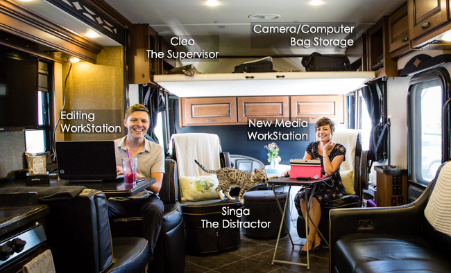 mobile RV office space