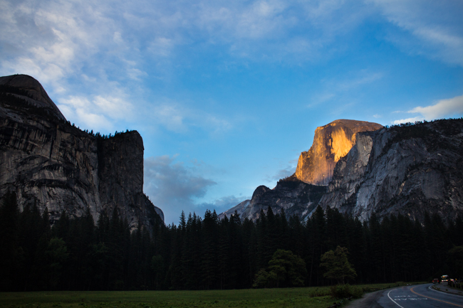 camping at yosemite national park