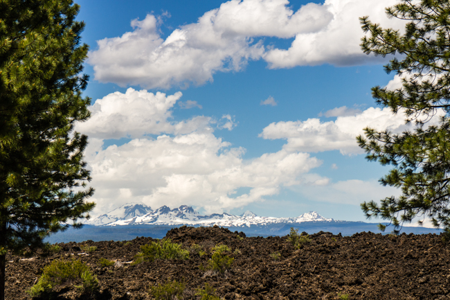 bend oregon lava beds